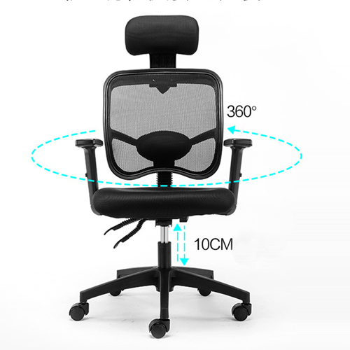 Executive Mesh Office Chair With Header Image 3