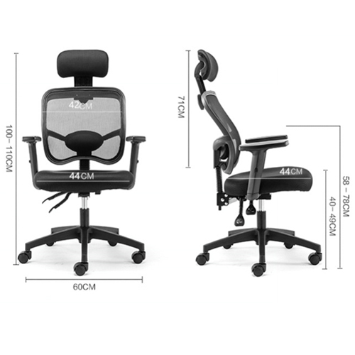 Executive Mesh Office Chair With Header Image 4