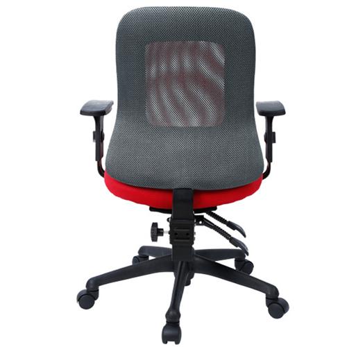 Flash Medium Back Mesh Office Chair Image 4