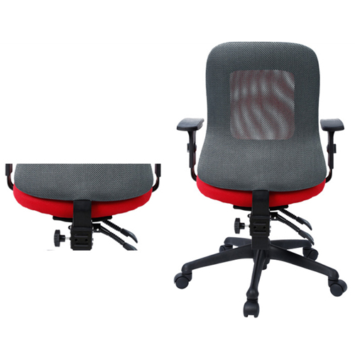 Flash Medium Back Mesh Office Chair Image 8