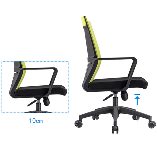 Anton Fabric Mesh Office Chair Image 7