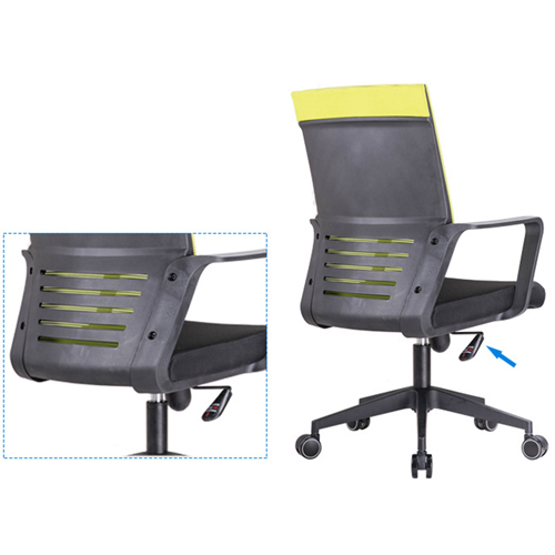 Anton Fabric Mesh Office Chair Image 8
