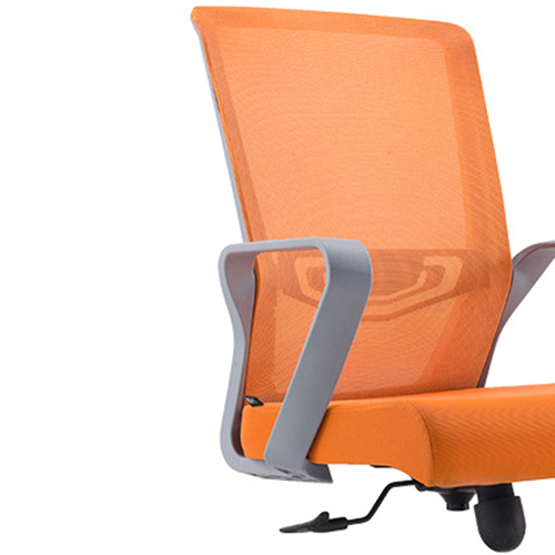 Arc Shaped Office Mesh Chair Image 11