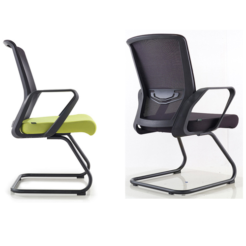 Arc Shaped Office Mesh Chair Image 7