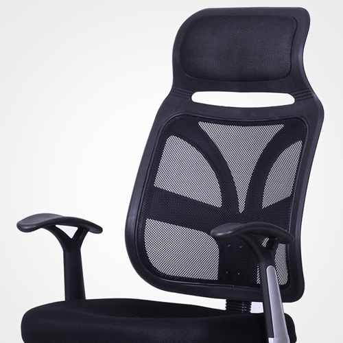 Designer Mesh High Back Office Chair with Headrest Image 9