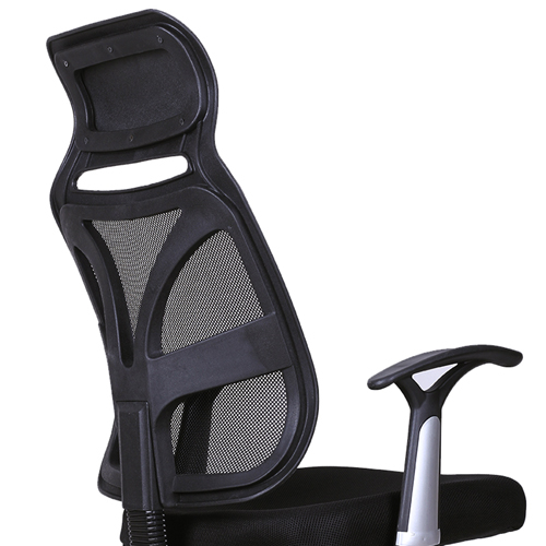 Designer Mesh High Back Office Chair with Headrest Image 10