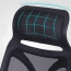 Designer Mesh High Back Office Chair with Headrest Image 11