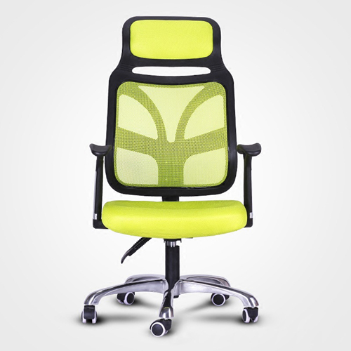 Designer Mesh High Back Office Chair with Headrest Image 1