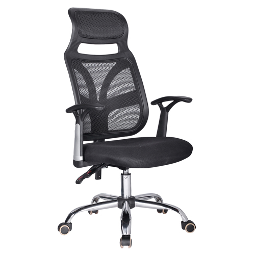 Designer Mesh High Back Office Chair with Headrest Image 2