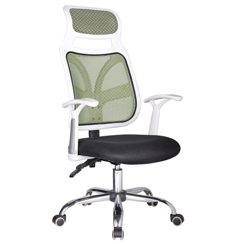Designer Mesh High Back Office Chair with Headrest Image 4