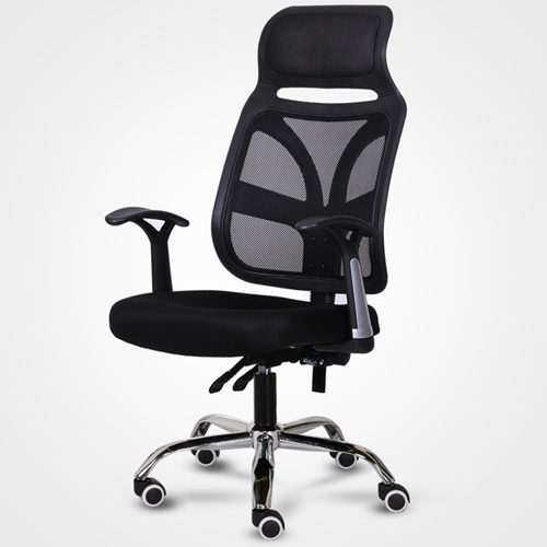 Designer Mesh High Back Office Chair with Headrest Image 5