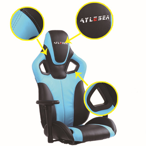 Costway Executive Racing Leather Chair Image 10