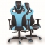 Costway Executive Racing Leather Chair Image 1