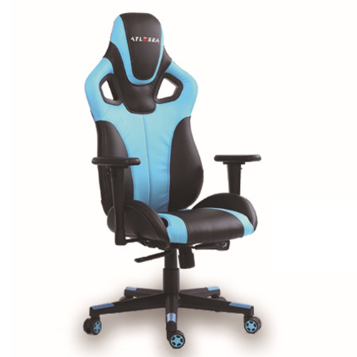 Costway Executive Racing Leather Chair Image 5