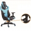 Costway Executive Racing Leather Chair Image 6