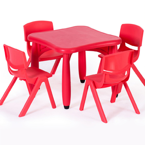 Ergerite Square Table with Four Chairs Image 1
