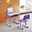 Ergonomic Study Table Chair Set with LED Lamp Image 1