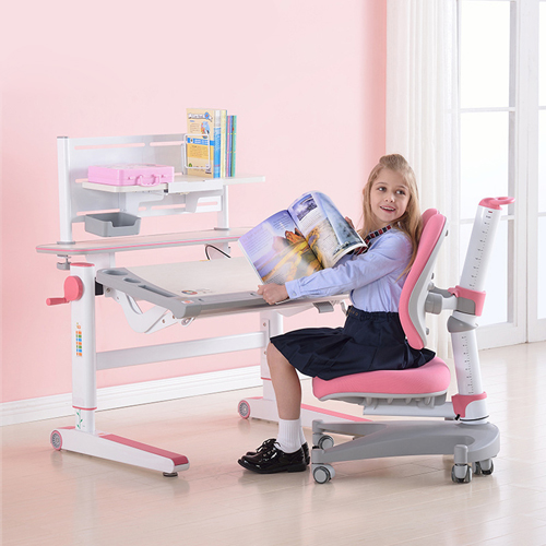 Comvex Children Writing Desk Set With Chair Image 1