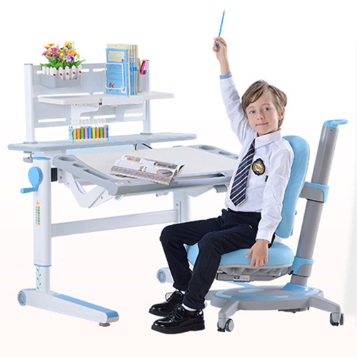 Comvex Children Writing Desk Set With Chair