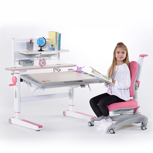 Comvex Children Writing Desk Set With Chair Image 4
