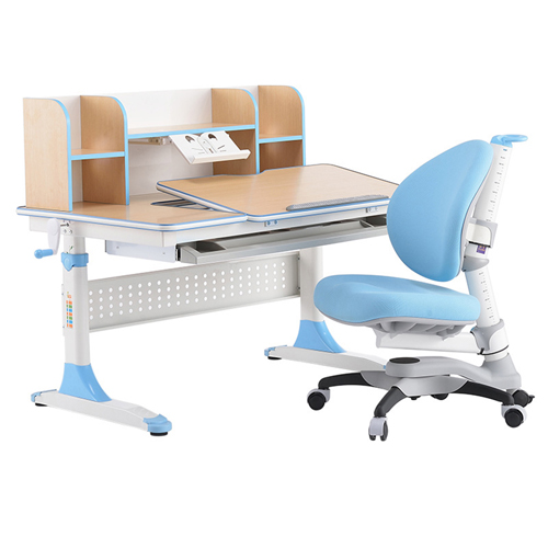 CreTech Children Lift Writing Desk With Chair Image 2