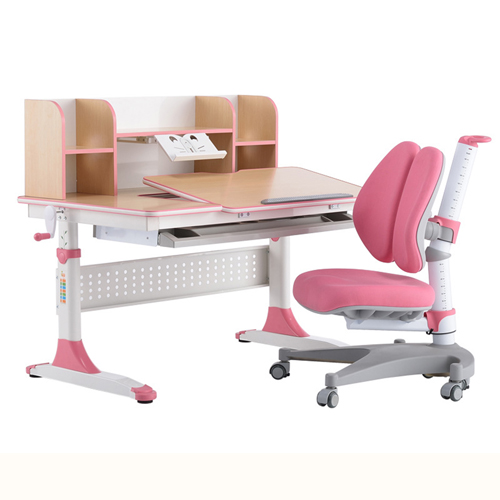 CreTech Children Lift Writing Desk With Chair Image 4