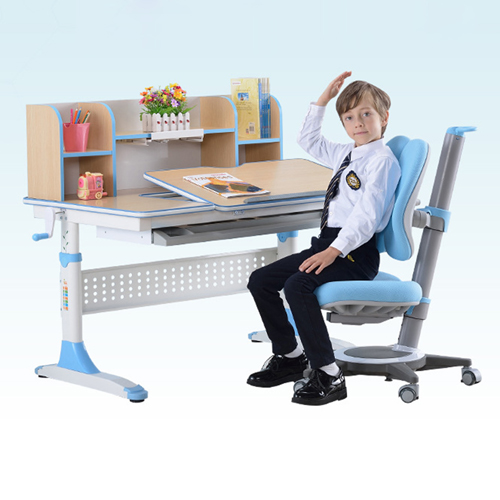 CreTech Children Lift Writing Desk With Chair Image 6