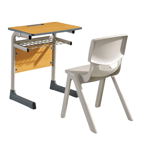 Werzalit School Desk With Chair Set Image 1