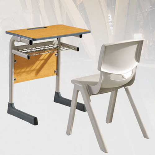 Werzalit School Desk With Chair Set Image 3