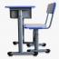 Single Lifting Classroom Desk Set Image 7