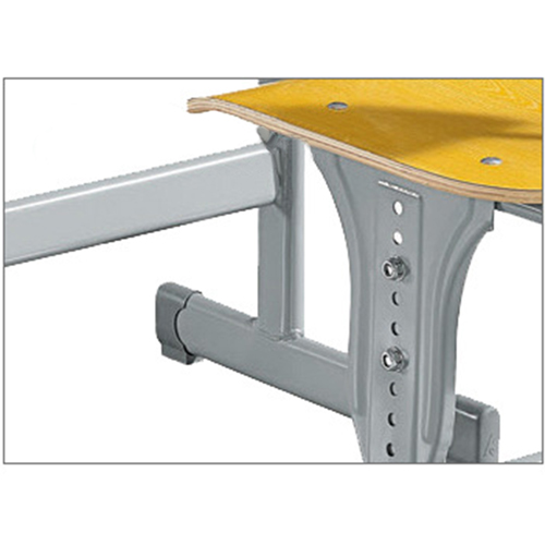 Standard Double Drawer School Desk Image 10