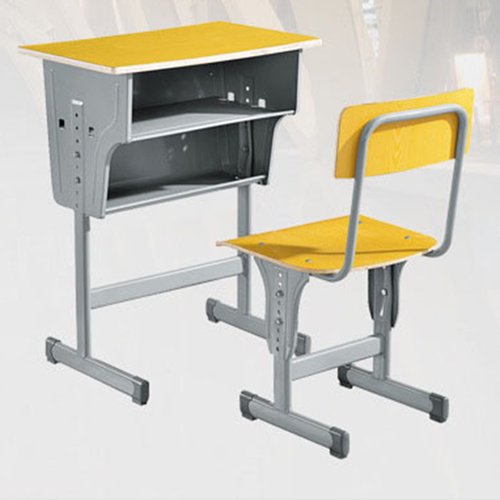 Standard Double Drawer School Desk Image 3
