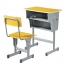Standard Double Drawer School Desk