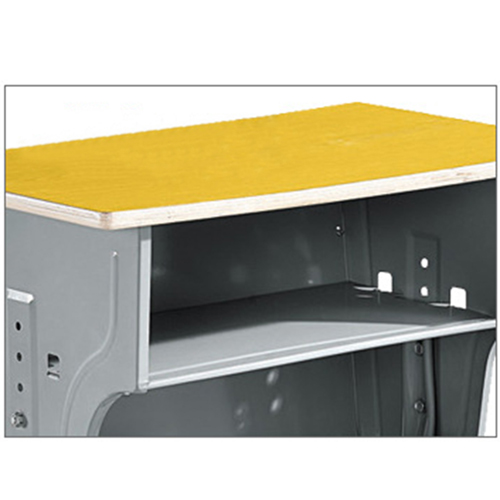 Standard Double Drawer School Desk Image 6