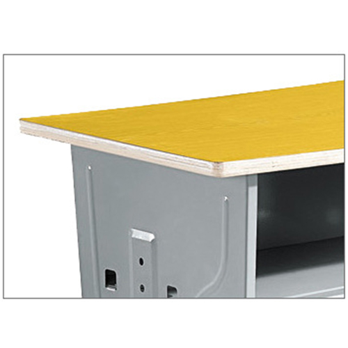 Standard Double Drawer School Desk Image 7