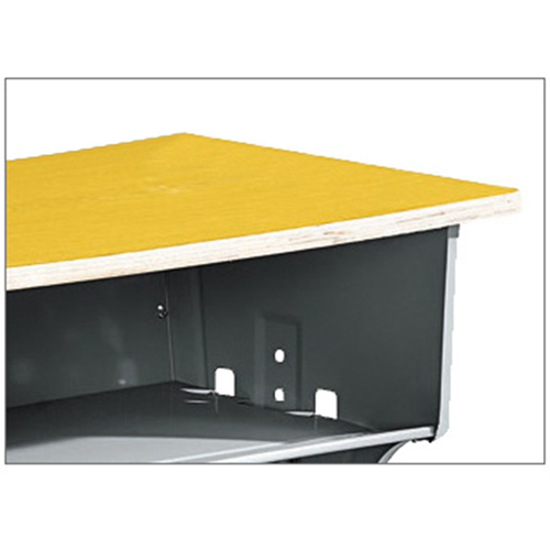 Standard Double Drawer School Desk Image 8