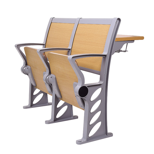 Bermo Metal Frame Wooden Auditorium Chairs Image 1