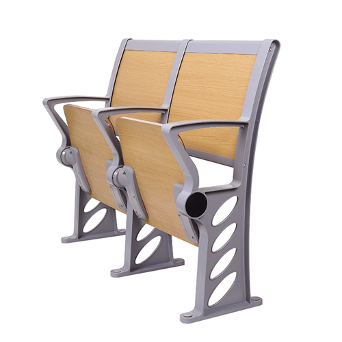 Bermo Metal Frame Wooden Auditorium Chairs Image 4