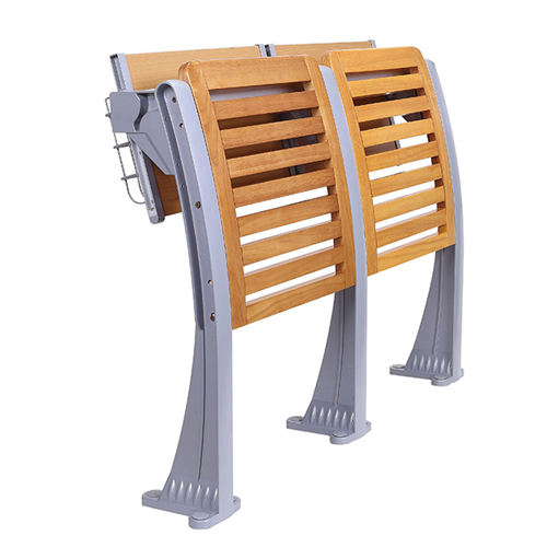Strip Wooden Aluminum Auditorium Chairs Image 9