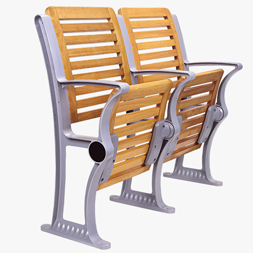 Strip Wooden Aluminum Auditorium Chairs Image 10