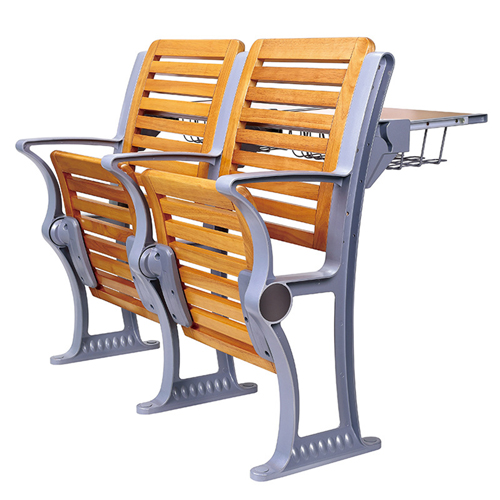 Strip Wooden Aluminum Auditorium Chairs