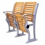 Strip Wooden Aluminum Auditorium Chairs Image 3
