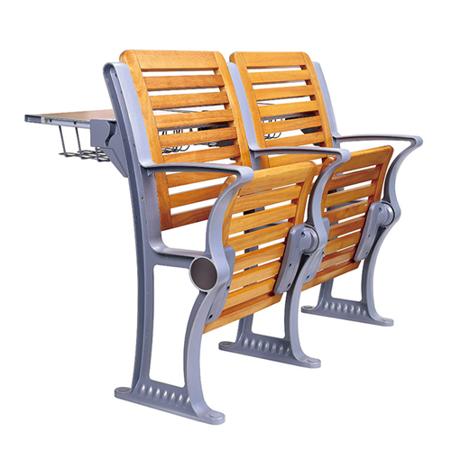 Strip Wooden Aluminum Auditorium Chairs Image 8
