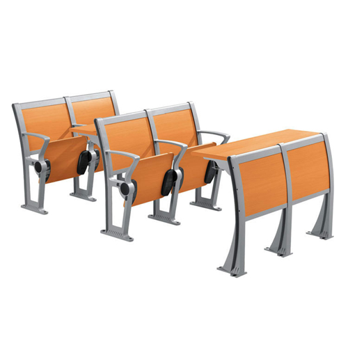 Folding Metal Student Row Chair Image 1