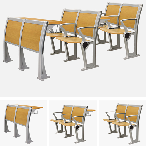 Folding Metal Student Row Chair Image 7