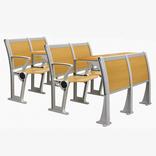 Folding Metal Student Row Chair Image 9