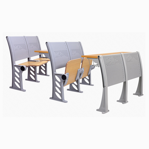Candecor Wooden Seat Auditorium Chairs Image 9
