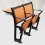 Double Folding Aluminum Study Chair Image 1