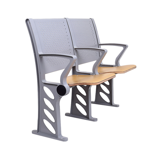 Aluminum Auditorium Chair With Storage Compartment Image 10