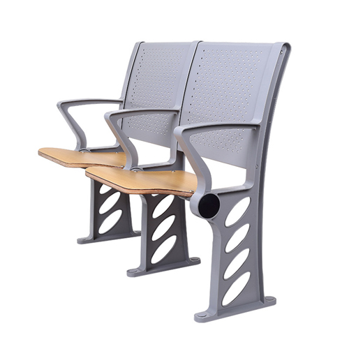 Aluminum Auditorium Chair With Storage Compartment Image 4